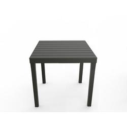 IPAE-PROGARDEN - Tavolo Bali  Antracite 80x80 cm