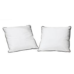 KESTILE - Set 2 Cuscini Bicolor 15 Bianco/Nero