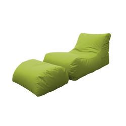 KESTILE - Pouff Chaise Longue Marea A4 Verde