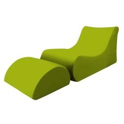 KESTILE - Pouf Chaise Longue Marea A9 Verde