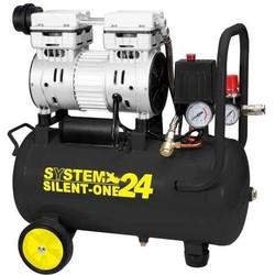 SYSTEM+ - Compressore Super Silenziato 24 Lt