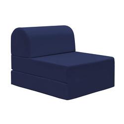KESTILE - Pouf Chaise Longue Petra A9 Blu