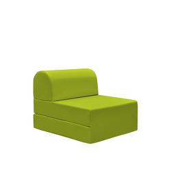 KESTILE - Pouf Chaise Longue Petra A8 Verde