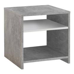KESTILE - Tavolino Lumi A1 Grigio/Bianco