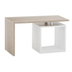 KESTILE - Tavolino Stark A4 Rovere/Bianco