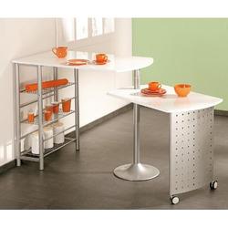 KESTILE - Tavolo Bar Smart A1 Bianco/Cromo