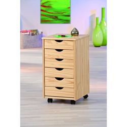 KESTILE - Cassettiera Office 21 Naturale