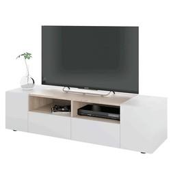KESTILE - Mobile Tv Vanilla S01 Rovere Spazzolato/Bianco