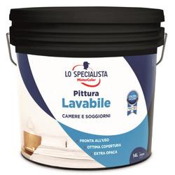 LO SPECIALISTA - Pittura Lavabile Bianco 14 LT