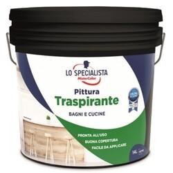 LO SPECIALISTA - Pittura Traspirante Bianco 14 Lt