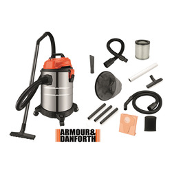 ARMOUR - Aspiratore Solidi e Liquidi, 20 lt