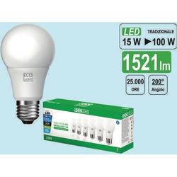 CENTURY - Lampada Ecolight Led E27, 15W, 6 pz.