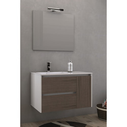 BATH SOLUTION - Lavabo Ceramica Mineralmarmo