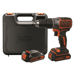 BLACK+DECKER - Trapano/avvitatore 18V