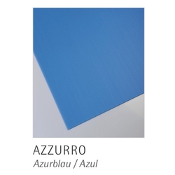 POLIMARK - Polionda Azzurro 100x200x2,5