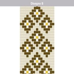 VERDELOOK - Tenda Piastrina Disegno B 120x240