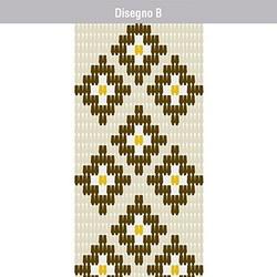VERDELOOK - Tenda Piastrina Disegno B 100x220