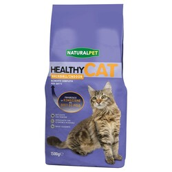 NATURAL PET - Naturalpet Healthy Cat Hairball 1,5 Kg