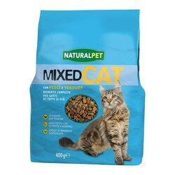 NATURAL PET - Naturalpet Mixed Cat 400 gr Pesce e Verdure