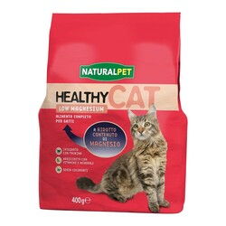 NATURAL PET - Naturalpet Cat Healthy Low Magnesium 400 gr.