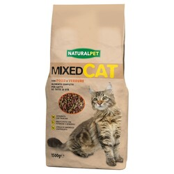 NATURAL PET - Naturalpet Mixed Cat 1,5 Kg Pollo e Verdure