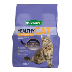 NATURAL PET - Naturalpet Healthy Cat Hairball 400 gr