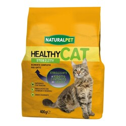 NATURAL PET - Naturalpet Cat Healthy Sterility 400 gr.