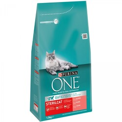 ONE - Purina ONE Bifensis Sterilised Salmone e Frumento