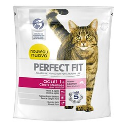 Perfect Fit - Perfect Fit Cat Adult 1+  Salmone 400 gr