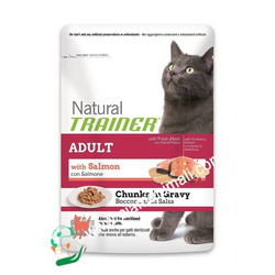 Natural Trainer - Trainer Natural Cat Adult 85 gr Salmone