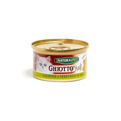 NATURAL PET - Naturalpet Ghiotto Chef 80 gr Salmone e Verdurine