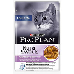 PURINA - Pro Plan Adult 7+ Nutrisavour in Salsa con Tacchin