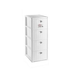 STEFANPLAST - Cassettiera Elegance Bianco