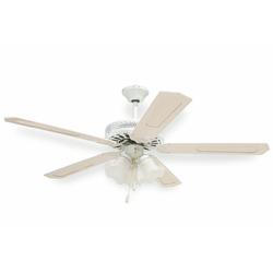 KOOPER - Ventilatore da Soffitto 130 cm Bianco