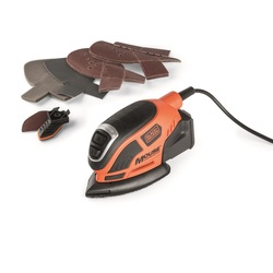 BLACK+DECKER - Levigatrice Mouse 55w