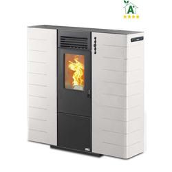 ADLER - Stufa a Pellet  Canalizzabile Slim 10C Bianco