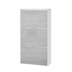*** - Scarpiera 3 Ante Bianco/Cemento