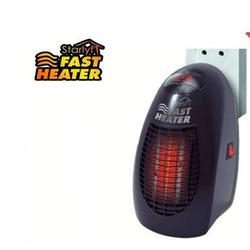 STARLYFT - Stufa Elettrica Fast Heater Deluxe Nero