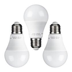 PRISMALUX - Set 3 Lampadine LED Goccia E27