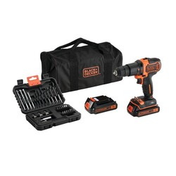 BLACK+DECKER - Trapano a Batteria BDCHD18BS32