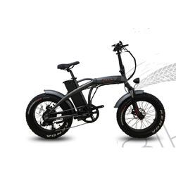 TAM BIKE - Bicicletta Elettrica Fat 20 Grigio