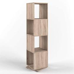 *** - Scaffale effetto legno 58x58xh108 Sonoma