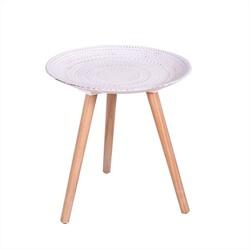 CRIBEL - Tavolino Sharm Bianco