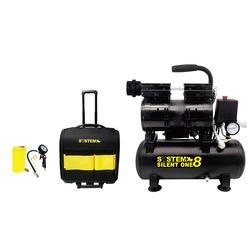 SYSTEM+ - Compressore 8 lt + Kit Accessori+ Trolley