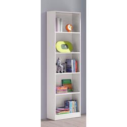 KESTILE - Libreria Hugo B10 Bianco 52x25x180 h cm