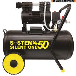 SYSTEM+ - Compressore Supersilenziato 50 LT