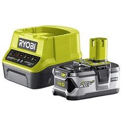 RYOBI - Set Caricabatterie Compatto RYOBI RC18120–140 + Ba