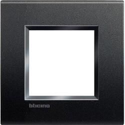 BTICINO - Placca Quadra LNA4802AR 2 Moduli Antracite