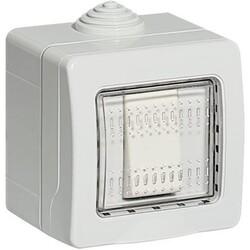 BTICINO - Idrobox Deviatore in Custodia IP55 S25501V1F Grigi