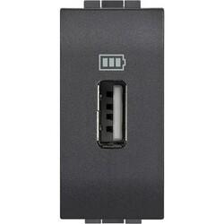 BTICINO - Caricatore USB Livinglight L4285C1 1 Modulo Antrac